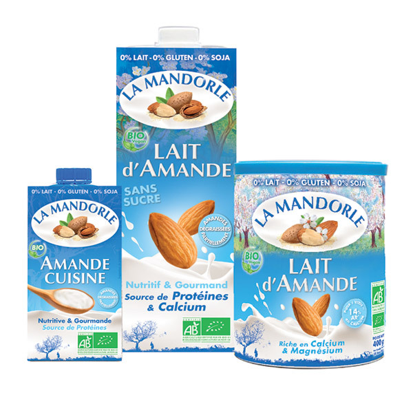 La Mandorle - 3-Pack Dairy Free Products - Almond