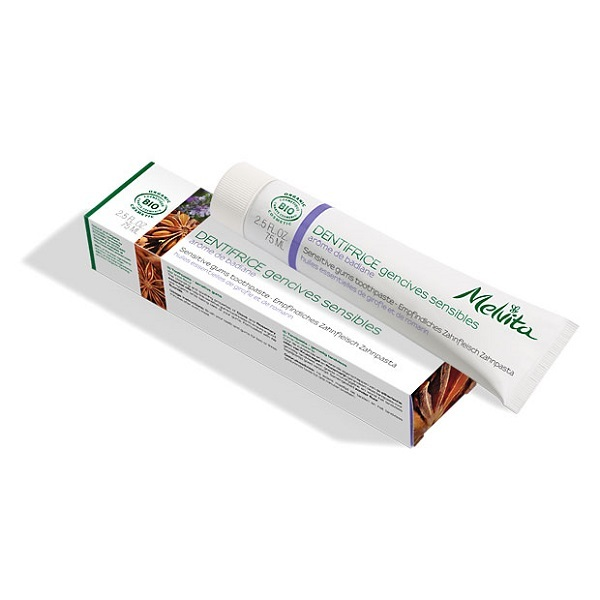 Melvita - Dentifrice gencives sensibles 75ml