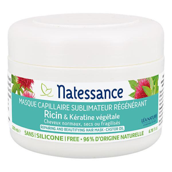 Natessance - Masque à l'huile de ricin et kératine végétale 200ml