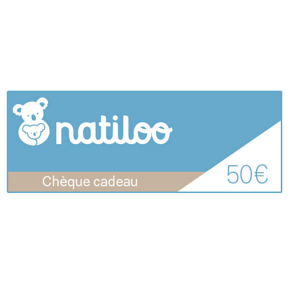 Natiloo.com - Chèque cadeau 50 euros