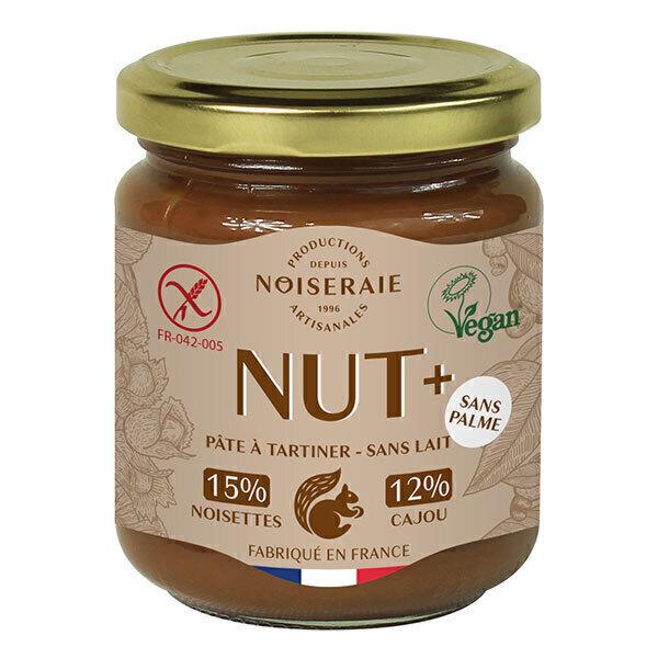Noiseraie - Pâte à tartiner Nut+ BIO noisette cajou 750g