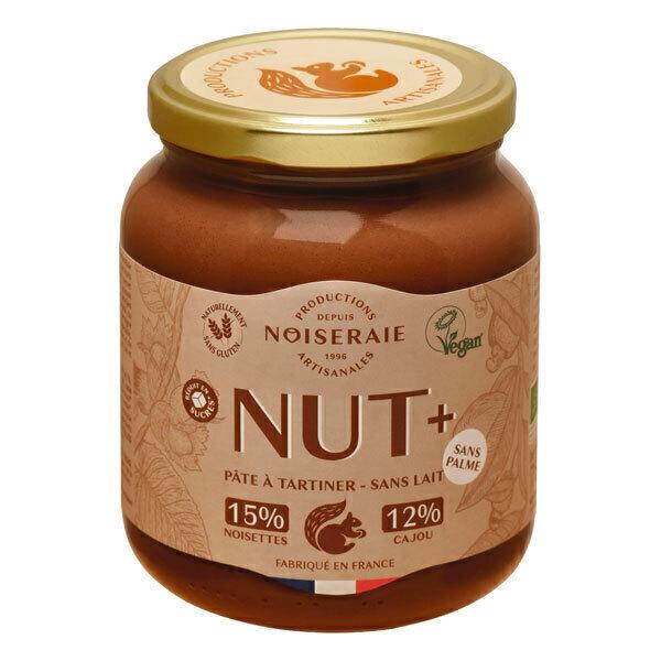 Noiseraie - Pâte à tartiner Nut+ noisette cajou 750g