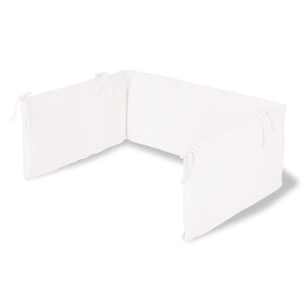 tour de lit blanc pinolino la r f rence bien tre bio b b. Black Bedroom Furniture Sets. Home Design Ideas