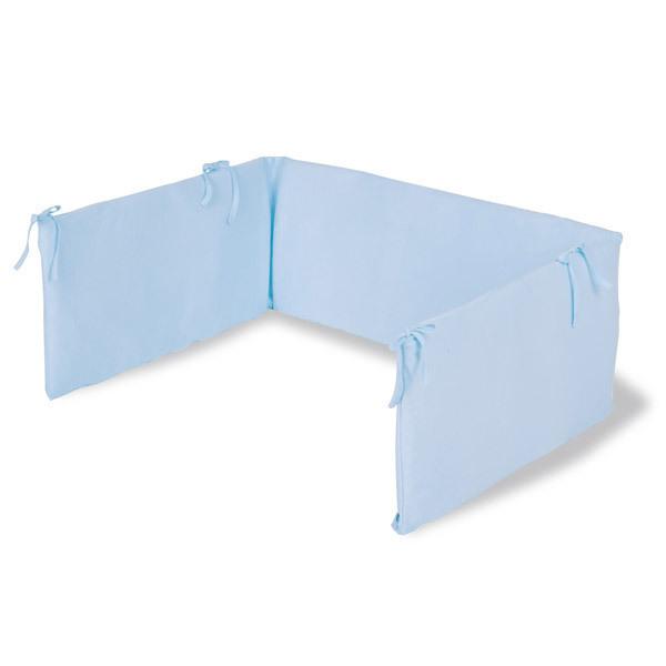 Tour de lit bleu ciel pinolino la r f rence bien tre bio b b - Ciel de lit bleu ...