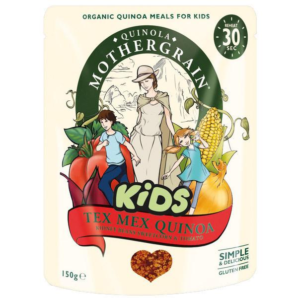 Quinola Baby - Quinoa kids Tex Mex 150gr
