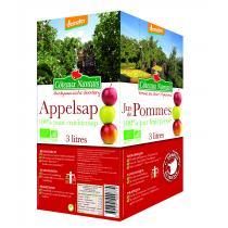 Côteaux Nantais - Bib jus de pommes 3 litres Bio et Demeter