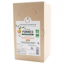 Côteaux Nantais - Bib jus de pommes Demeter 3L