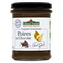 Côteaux Nantais - Compotée Gourmande Poires Chocolat Bio 200g