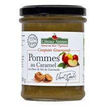 Côteaux Nantais - Compotée Gourmande Pommes Caramel à la fleur de sel Bio 200g