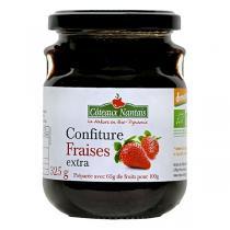 Côteaux Nantais - Confiture fraises extra Bio et Demeter 325g