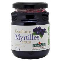 Côteaux Nantais - Confiture myrtilles extra Bio 325g