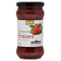 Côteaux Nantais - La compote de fraises Bio et Demeter 315g