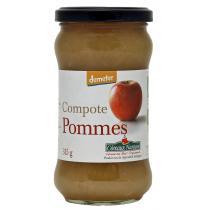 Côteaux Nantais - La compote de pommes Bio et Demeter 315g