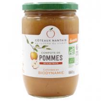 Côteaux Nantais - La compote de pommes Bio et Demeter 660g