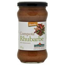 Côteaux Nantais - La compote de rhubarbe Bio et Demeter 315g