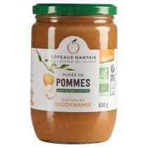 Côteaux Nantais - Purée de pommes Demeter 630g