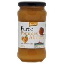 Côteaux Nantais - Purée pommes abricots Bio et Demeter 360g
