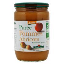 Côteaux Nantais - Purée pommes abricots Bio et Demeter 630g