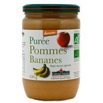 Côteaux Nantais - Purée pommes bananes Bio et Demeter 630g