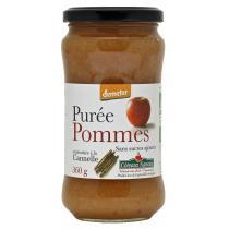 Côteaux Nantais - Purée pommes cannelle Bio et Demeter 360g