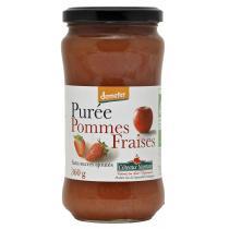 Côteaux Nantais - Purée pommes fraises Bio et Demeter 360g