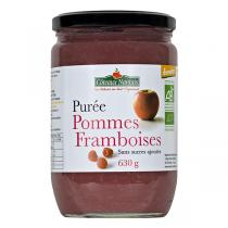 Côteaux Nantais - Purée pommes framboises 630g
