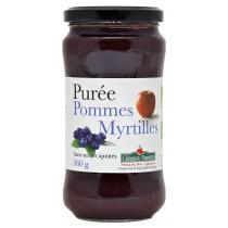Côteaux Nantais - Purée pommes myrtilles Bio 360g