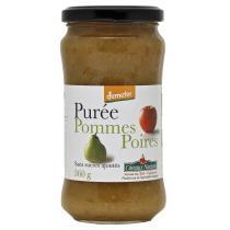 Côteaux Nantais - Purée pommes poires Bio et Demeter 360g