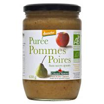 Côteaux Nantais - Purée pommes poires Bio et Demeter 630g