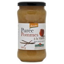 Côteaux Nantais - Purée pommes vanille Bio et Demeter 360g