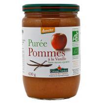 Côteaux Nantais - Purée pommes vanille Bio et Demeter 630g