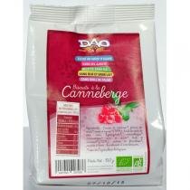 Dao - Biscuits Canneberge 150gr
