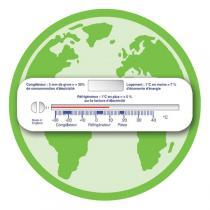 Pack energie - 3 in 1 Thermometer für Raum, Kühlschrank und Gefrierschrank