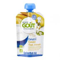 Good Gout - Gourde brassé banane fleur d'oranger 90g - Dès 6 mois