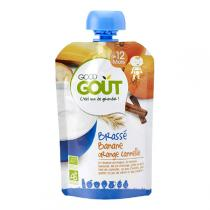 Good Gout - Gourde brassé banane orange cannelle 90g