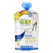 Good Gout - Gourde brassé poire vanille 90g - Dès 6 mois
