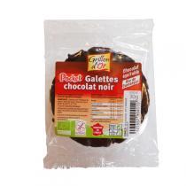 Grillon d'or - Galettes riz chocolat noir pocket 30g