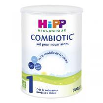 HiPP - Lot de 3 boites de Lait 1 Combiotic - 900g