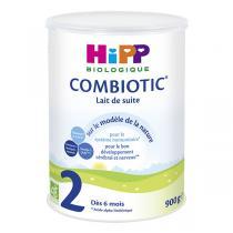 Hipp - Lot de 3 x Combiotic 2 Lait de suite Bio dès 6 mois 900g