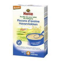 Holle - Lot de 3 Bouillies flocons d'avoine 3x250gr
