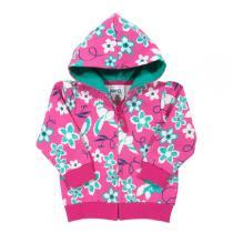 Kite Kids - Veste zippée à capuche Fille Floral Bird