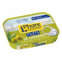 Le phare d'Eckmuhl - Filets de sardines à l'huile d'olive bio 100g