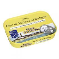 Le phare d'Eckmuhl - Filets de sardines à la sauce citronnée bio 90g