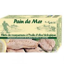 Pain de Mer - Filet de maquereaux à l'huile d'olive 120gr