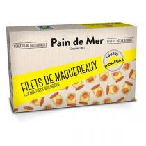 Pain de Mer - Filet de maquereaux à la moutarde 120g/90g