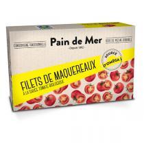 Pain de Mer - Filet de maquereaux à la tomate 120g/90g