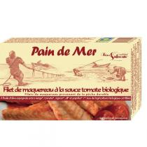 Pain de Mer - Filet de maquereaux à la tomate 120gr