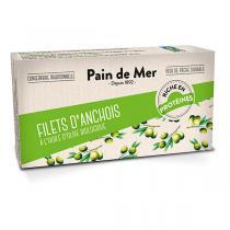 Pain de Mer - Filets d'anchois à l'huile d'olive 50g/30g