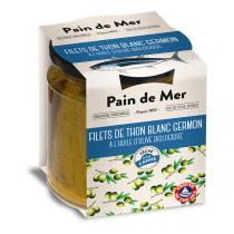 Pain de Mer - Filets de thon blanc bonito à l'huile d'olive 220g/154g