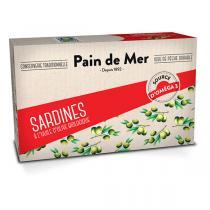 Pain de Mer - Sardines à l'huile d'olive 120g/90g